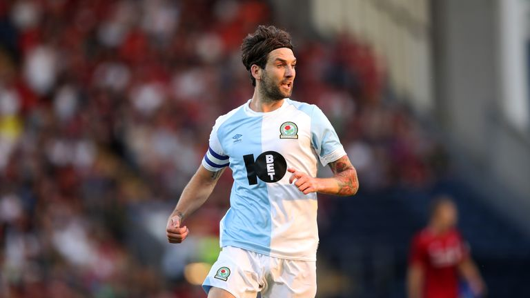 Charlie Mulgrew has made 89 appearances for Blackburn