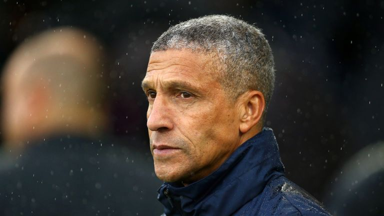 Brighton manager Chris Hughton's job will not change, insisted chief executive Paul Barber