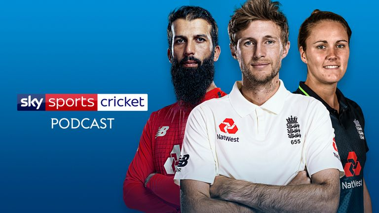 Listen to the Sky Sports Cricket podcast