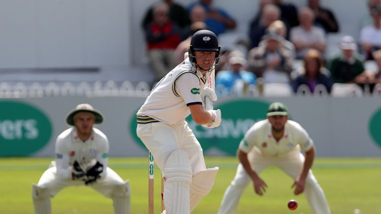 Gary Ballance averages 47.49 in first-class cricket