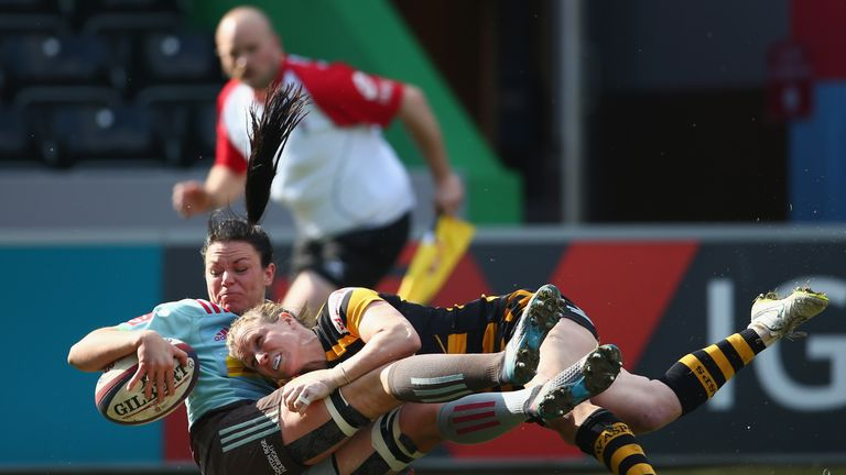 Wasps Ladies lost out to Harlequins in the semi-final of last season's inaugural Tyrrells Premier 15s campaign