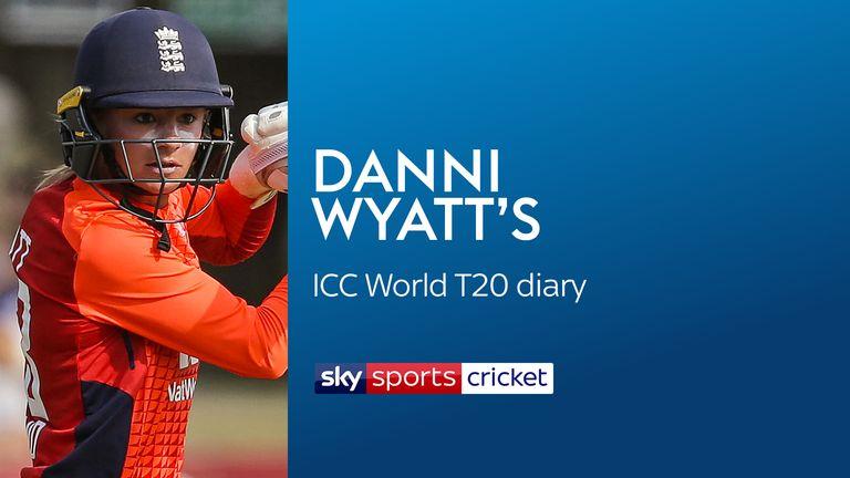 Danni Wyatt's ICC World T20 diary