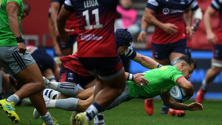 Danny Care's try was in vain as Harlequins lost to Bristol Bears on Saturday
