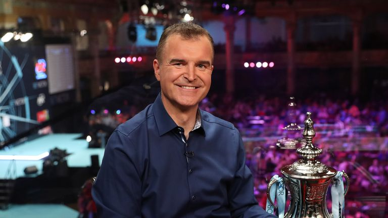 Dave Clark is stepping away from his role as presenter of Sky Sports Darts after almost 20 years