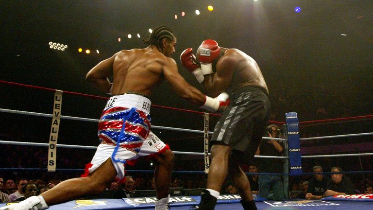 Haye beat Mormeck to add the WBC cruiserweight title to his own WBA version