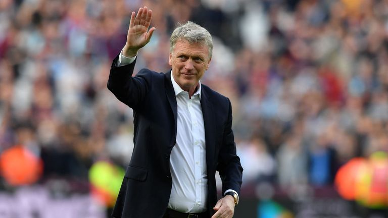 David Moyes waved farewell to West Ham at the end of last season