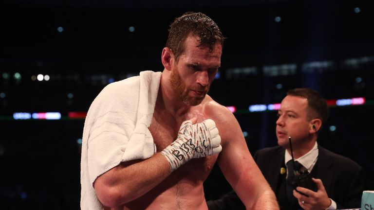 Price had to retire during his fight with Kuzmin in September