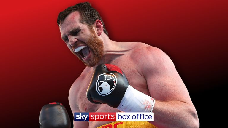 David Price is back in action at The O2 on December 22