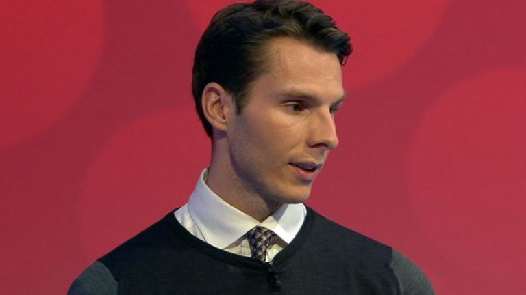 David Sharpe, 23, became the youngest chairman in English football history in 2015