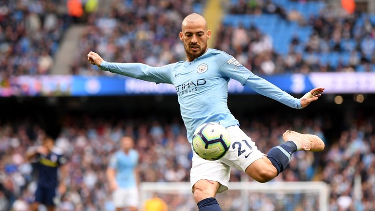 Man-of-the-match David Silva showed his ruthlessness in front of goal