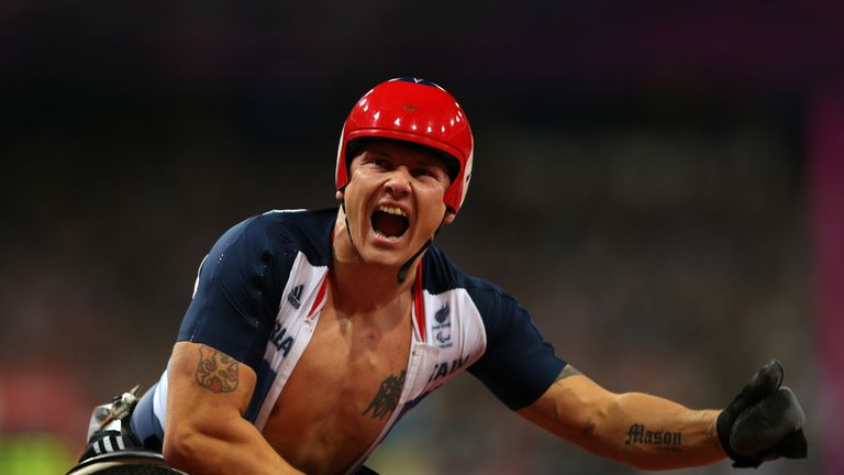 David Weir is aiming to compete for Team GB again