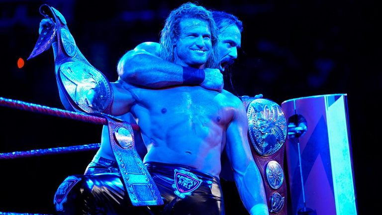 Dolph Ziggler and Drew McIntyre are the new Raw tag-team champions