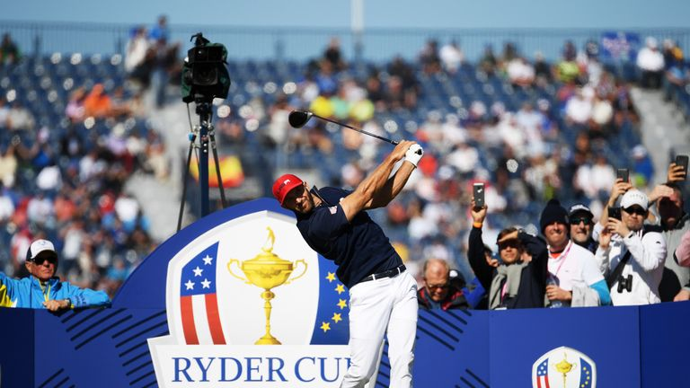 Dustin Johnson only registered one point from his five matches