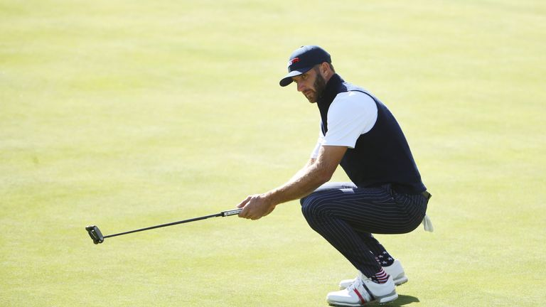Johnson is one of nine members of Team USA's Ryder Cup team involved
