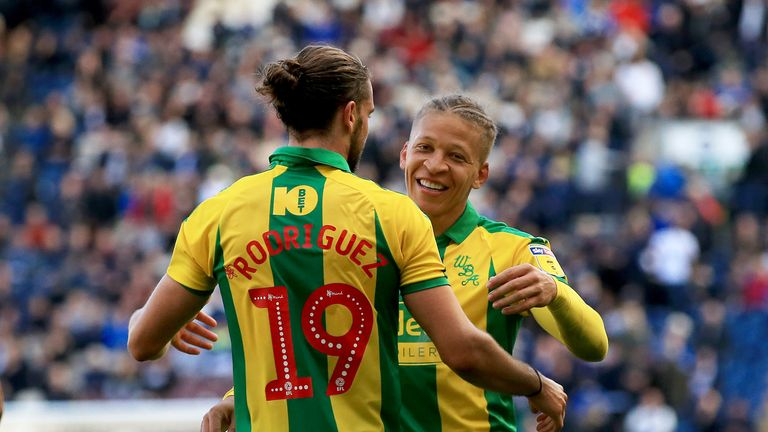 Jay Rodriguez and Dwight Gayle were both on target again for West Brom