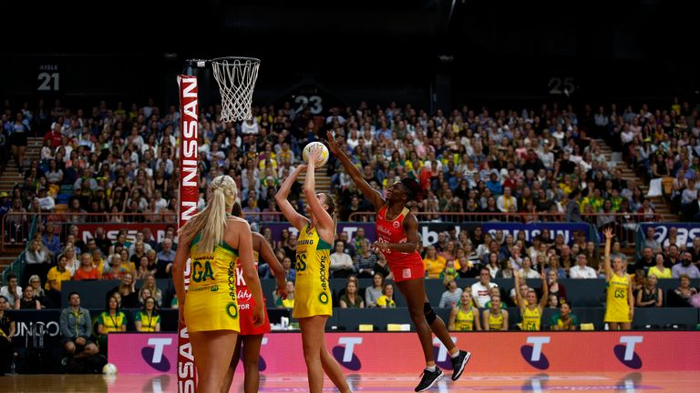 Australia assumed control in the second quarter