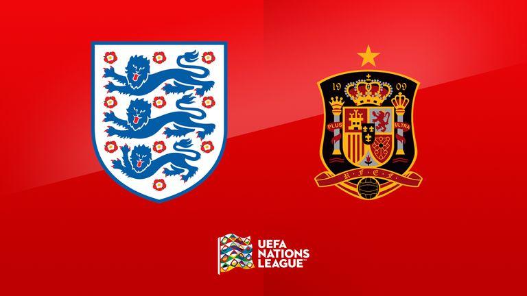 England v Spain - Nations League podcast