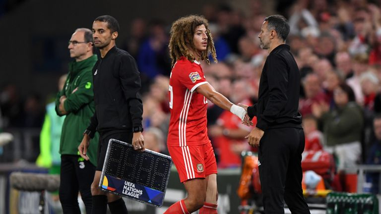 Ethan Ampadu has impressed for Wales under Ryan Giggs