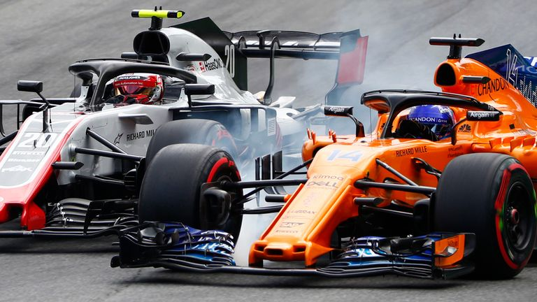 Kevin Magnussen says he cannot wait for Fernando Alonso to