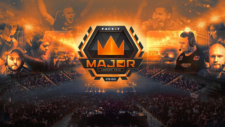 Get ready for the FACEIT CS:GO Major live on Sky Sports | eSports