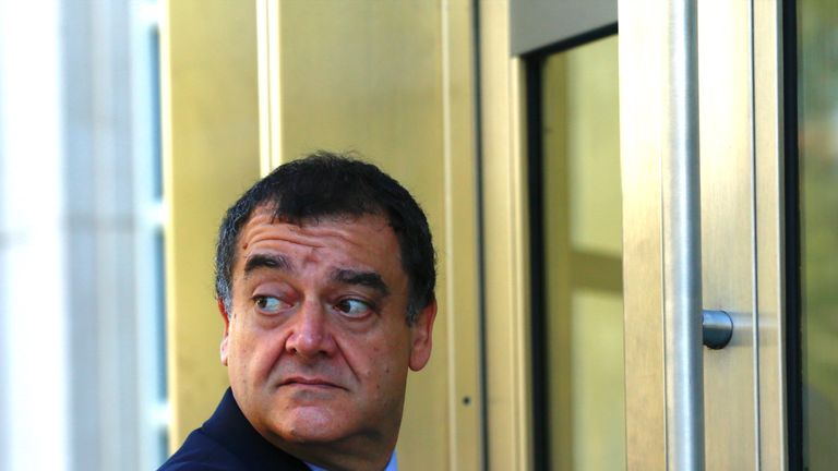 Costas Takkas is one of three officials implicated in a FIFA corruption scandal to be banned for life