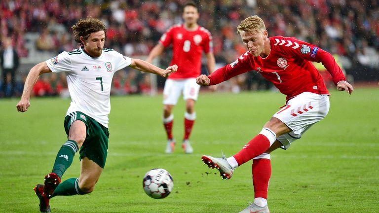 Denmark v Wales nations league