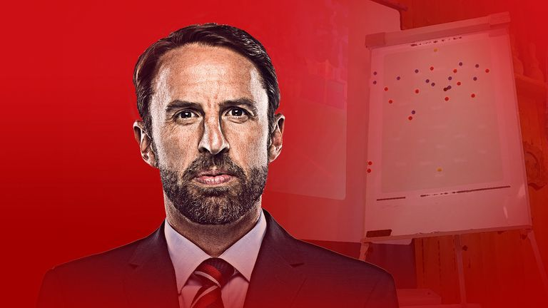 England manager Gareth Southgate's tactics are in the spotlight