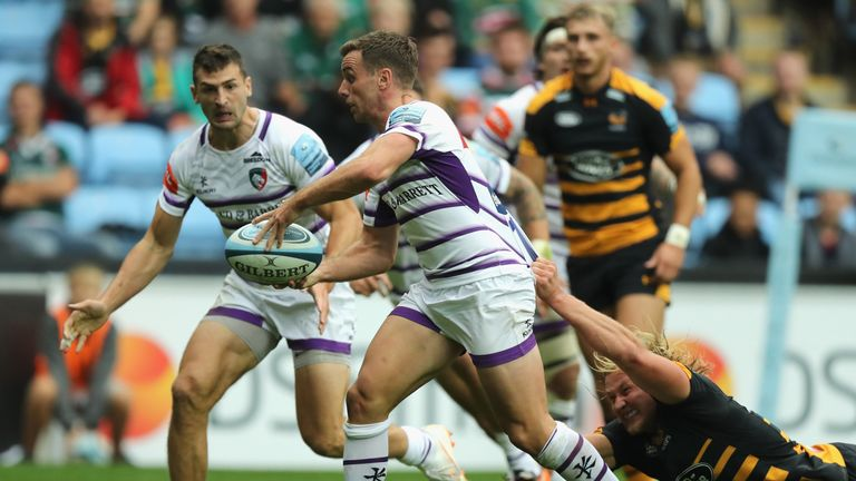 George Ford spearheaded Leicester's performance at the Ricoh Arena