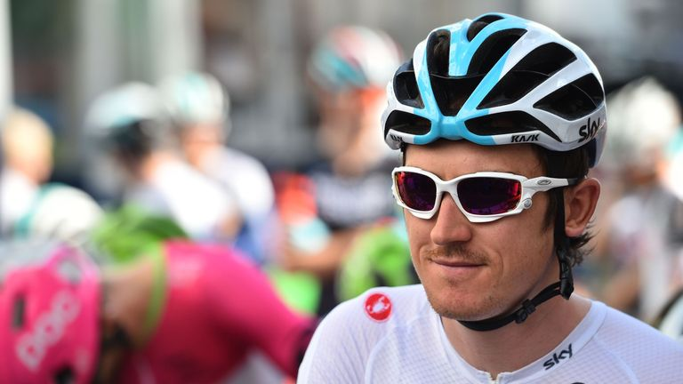 Geraint Thomas has signed a new three-year contract with Team Sky