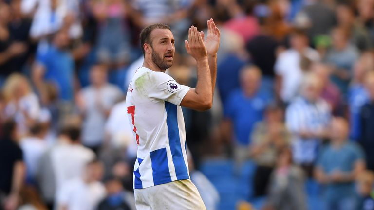 Chris Hughton echoed Mark Hughes' praise for Glenn Murray