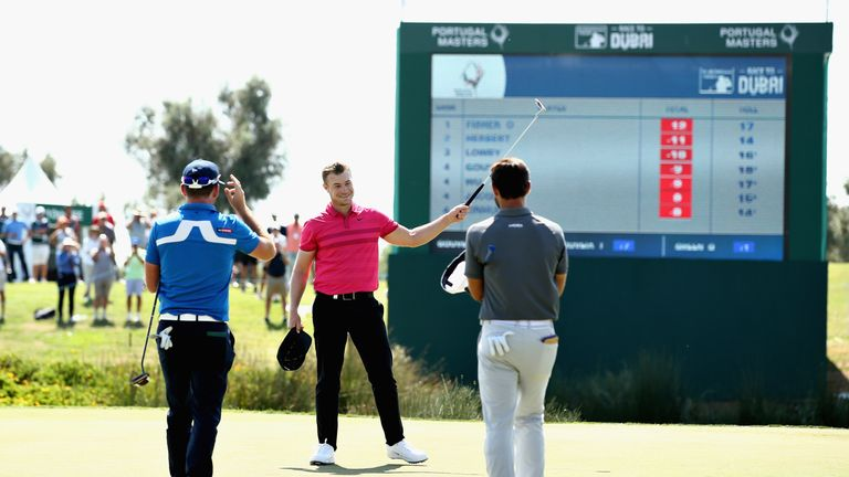 Watch the moment Oliver Fisher made European Tour history in Portugal