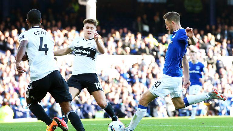 Gylfi Sigurdsson scored twice for Everton on Saturday