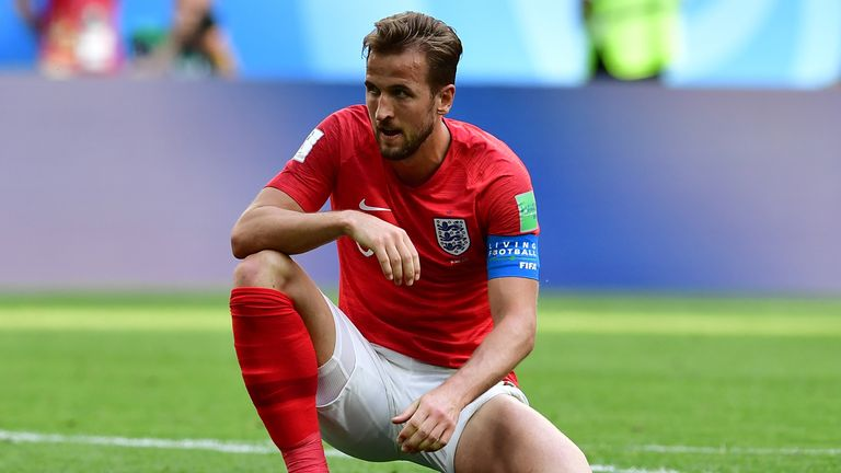 Harry Kane is a fitness concern for England