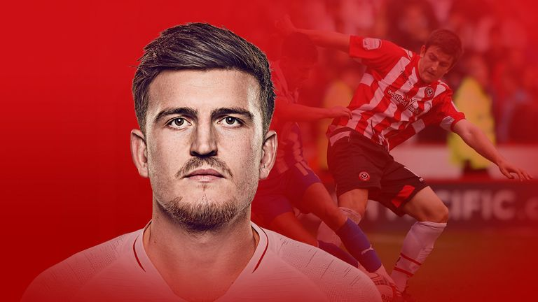 Harry Maguire has gone from Sheffield United kid to England hero