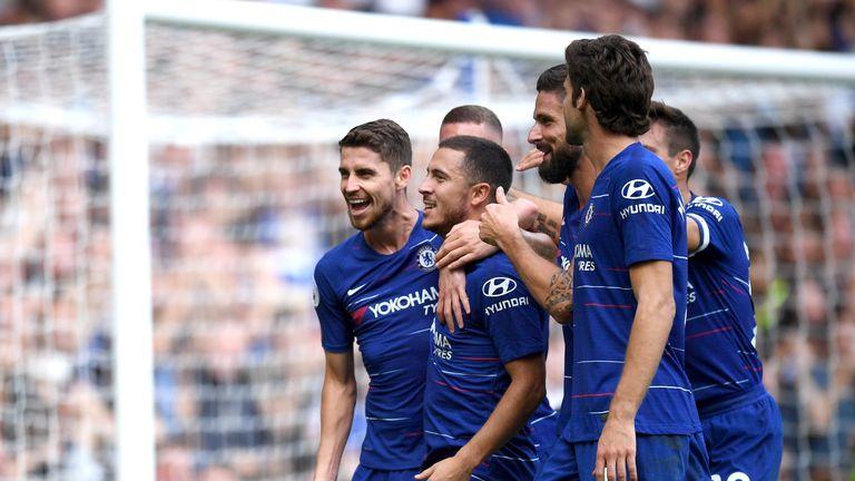 Hazard has benefited from Maurizio Sarri's tactics, says Zola