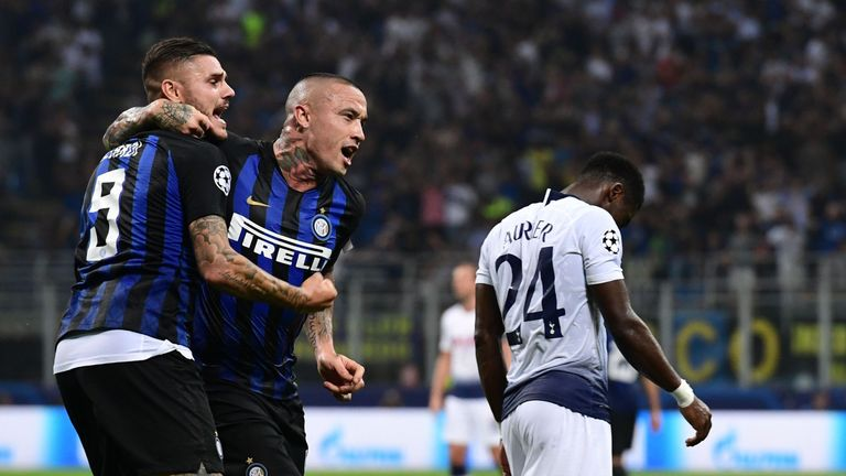 the best attitude 46659 fae94 Serie A round-up: Radja Nainggolan rescues Inter Milan ...