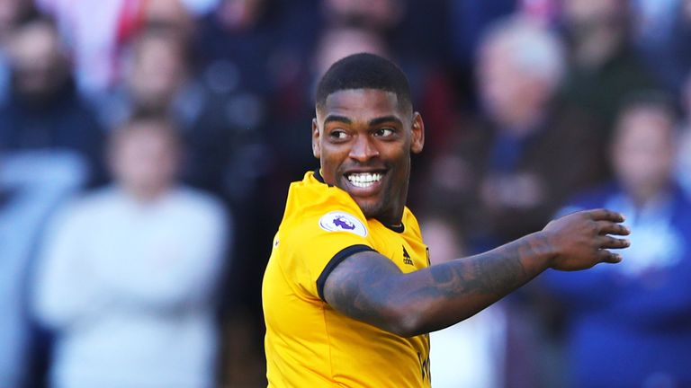 Ivan Cavaleiro during the Premier League match between Wolverhampton Wanderers and Southampton FC at Molineux on September 29, 2018 in Wolverhampton, United Kingdom.