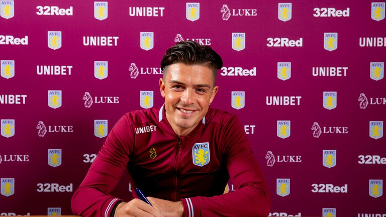 Grealish has committed his future to Aston Villa for the next five years