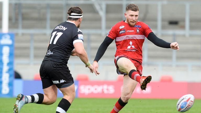 Jackson Hastings impressed Salford last season after his late signing