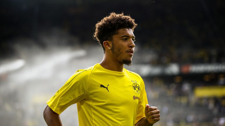 Jadon Sancho rewarded for bold move to Borussia Dortmund with England call-up