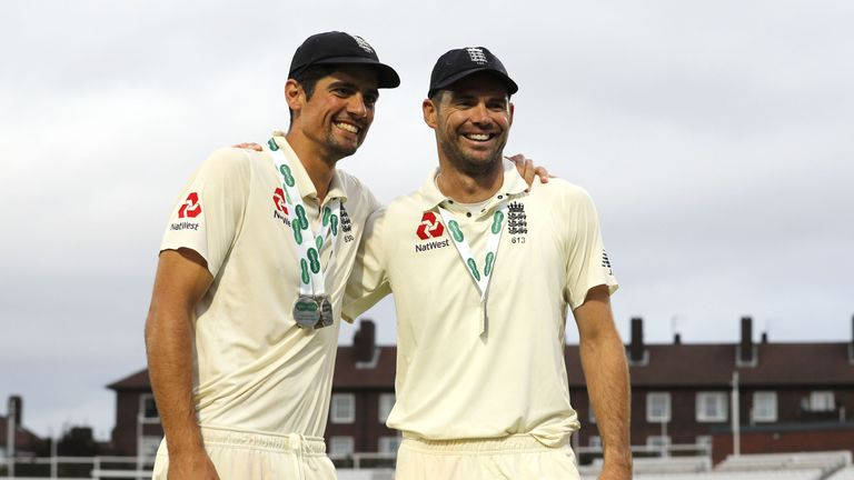 Cook and Anderson played in 130 Tests together
