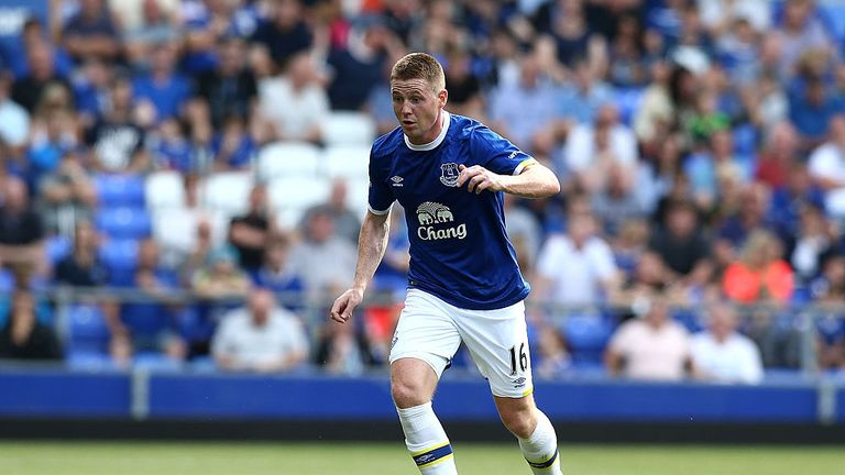 James McCarthy hasn't played since January