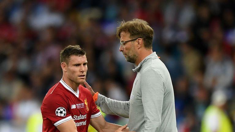 Milner praised the man management skills of Jurgen Klopp