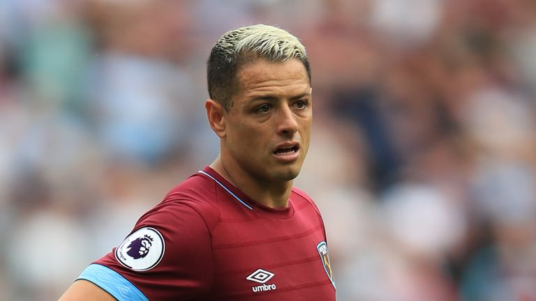 Javier Hernandez has been laid low by a virus