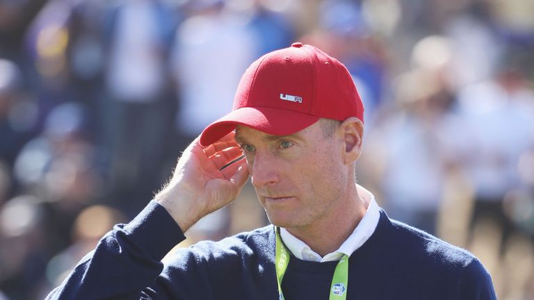 Jim Furyk says there was a brief altercation between Dustin Johnson and Brooks Koepka at the Ryder Cup
