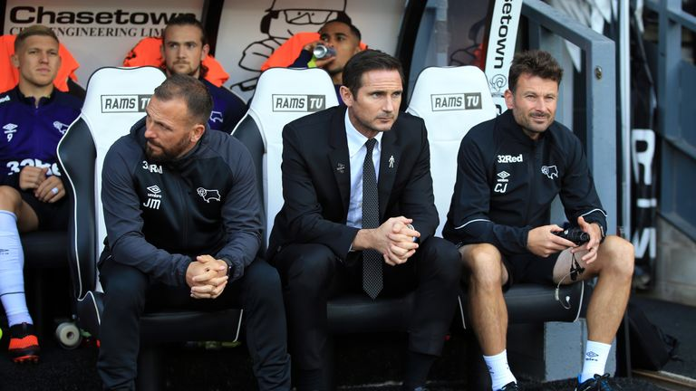 Jody Morris left his role as Chelsea U18s boss to become Frank Lampard's assistant at Derby