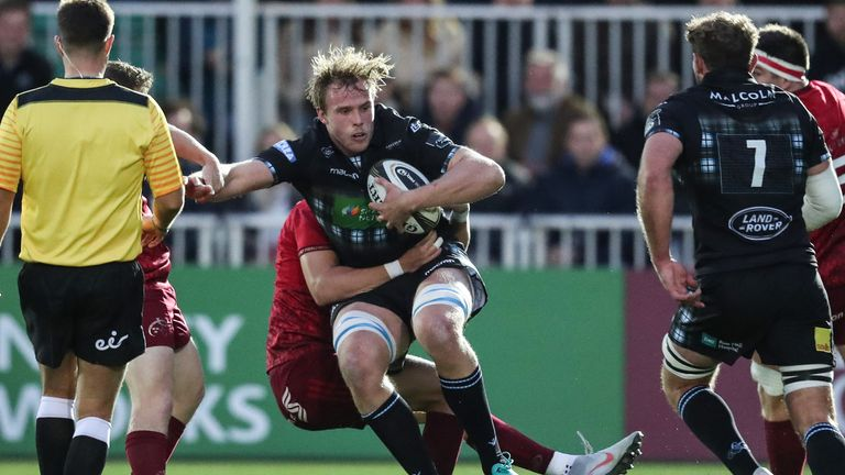 Jonny Gray returns in the second row having recovered from a shoulder injury