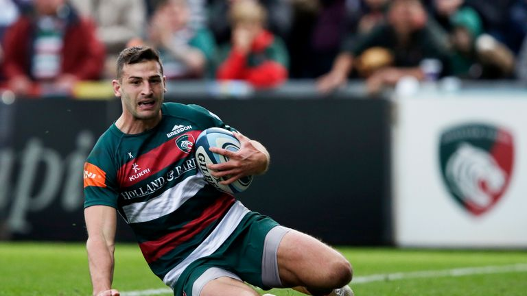 May has been in excellent form for Leicester Tigers