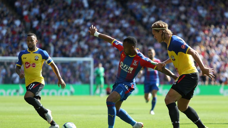 Crystal Palace were beaten by Southampton at Selhurst Park