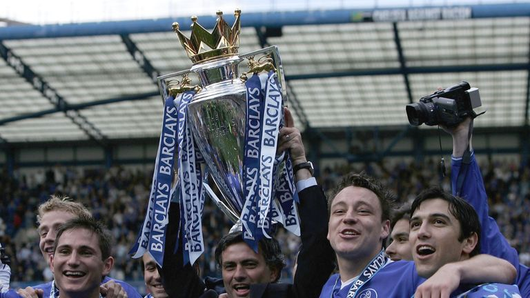 Jose Mourinho's perfect starts with Chelsea in 2004 and 2005 ended up with them winning the Premier League twice